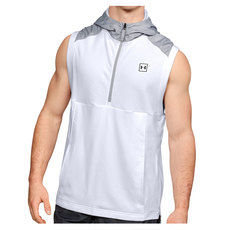 Microthread Terry - Men's Sleeveless Hooded Shirt