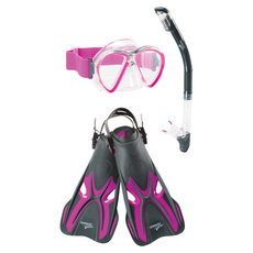 Reef Seeker Trio -  Adult Mask, Snorkel and Fins Set