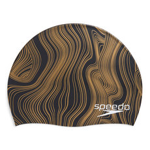 Elastomeric Printed - Adult Swimming Cap