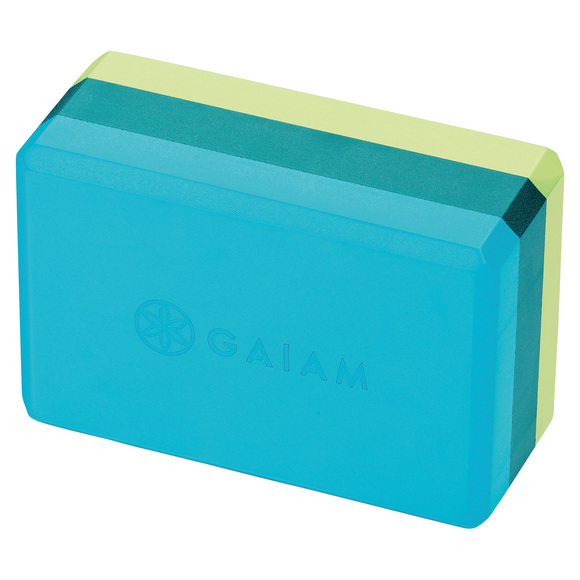 Tri-Colour - Foam Yoga Block