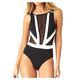 Hot Mesh - Women's One-Piece Swimsuit  - 0