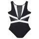 Hot Mesh - Women's One-Piece Swimsuit  - 1