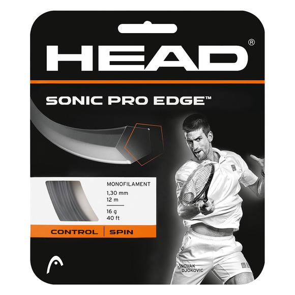 Sonic Pro Edge - Cordage pour raquette de tennis