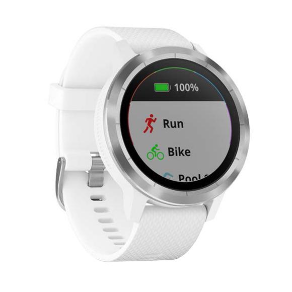 Vivoactive 3 - Montre intelligente GPS avec paiements mobiles et prise de fréquence cardiaque au poignet