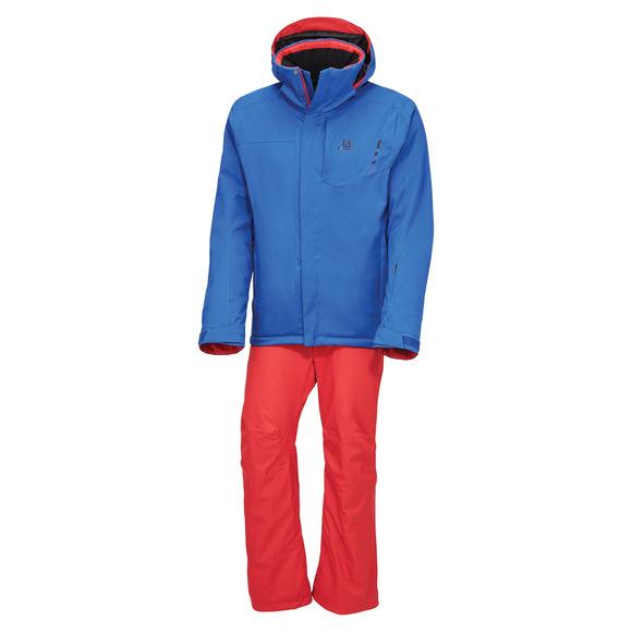 Open M - Manteau et pantalon d'hiver pour homme