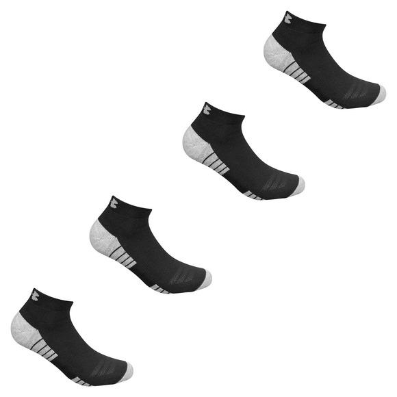 Heatgear M - Socquettes pour homme (Paquet de 4 paires)