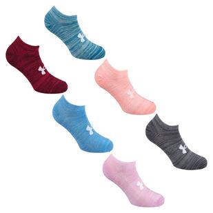 Essential Twist No Show - Socquettes pour femme (Paquet de 6 paires)