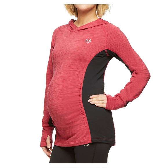 Stability - Chandail de maternité à capuchon