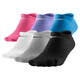 No Show - Women's Ankle Socks (Pack of 6 pairs) - 0