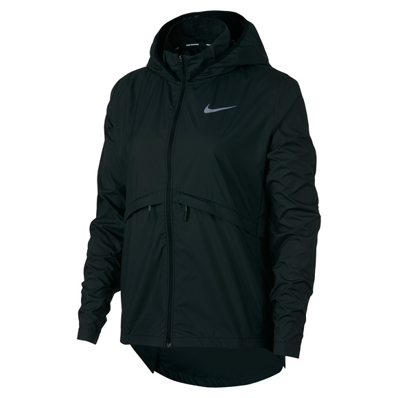 huge selection of 0f3af bc96a NIKE Essential - Women s Hooded Running Jacket   Sports Experts