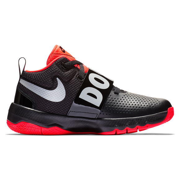detailed look af899 db766 NIKE Team Hustle D 8 JDI (GS) Jr - Chaussures de basketball pour junior   Sports Experts