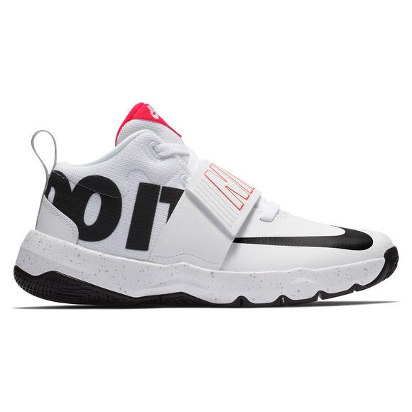 hot sale online 021ea 50f45 NIKE Team Hustle D 8 JDI (GS) Jr - Junior Basketball Shoes   Sports Experts