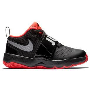 Team Hustle D 8 (PS) Jr - Chaussures de basketball pour enfant