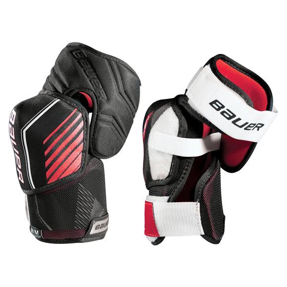 S18 NSX Jr - Protège-coudes de hockey pour junior