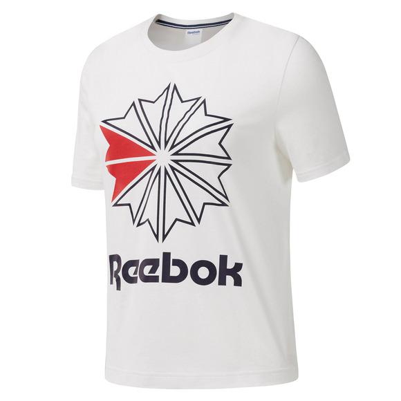 1d3702af5e733 REEBOK-CLASSIC Big Logo - Women's T-Shirt   Sports Experts