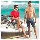 Basic Skins - T-shirt de plage pour homme  - 2