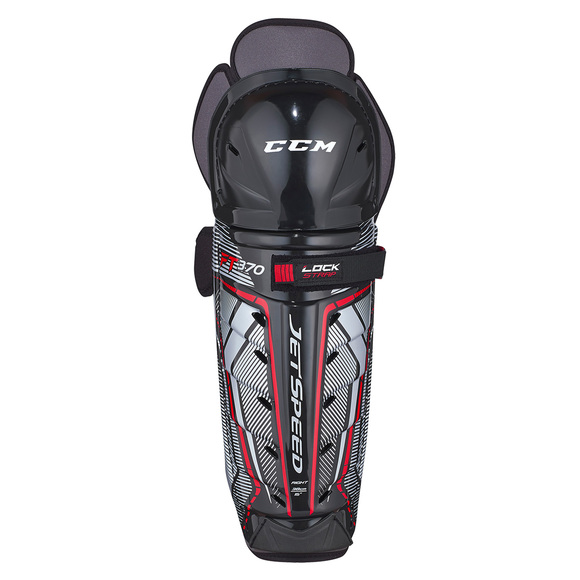 Jetspeed FT370 Sr - Senior Hockey Shin Guards
