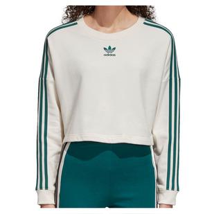 Adibreak - Women's Fleece Cropped Sweater