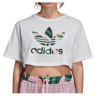 Cropped - T-shirt écourté pour femme
