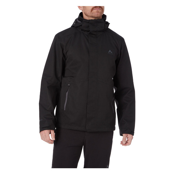 Terang II - Manteau de pluie à capuchon pour homme