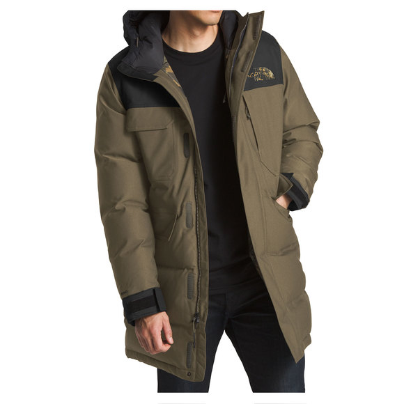 The North Face Biggie Mcmurdo Men S Down Insulated Parka Sports