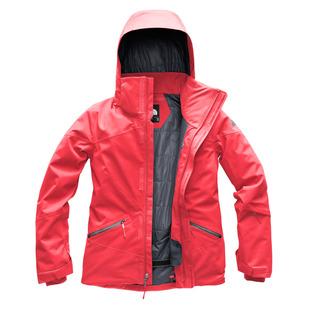 Lenado - Manteau d'hiver à capuchon pour femme