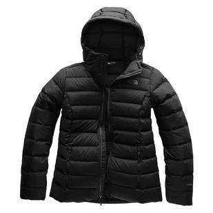 Stretch Down - Manteau isolé à capuchon pour femme