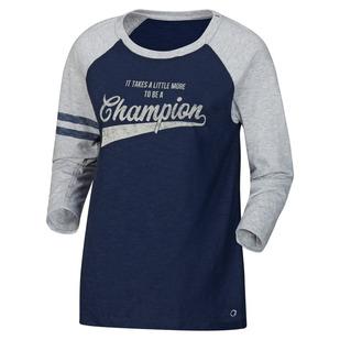 Heritage Slub Baseball - Women's Long-Sleeved Shirt