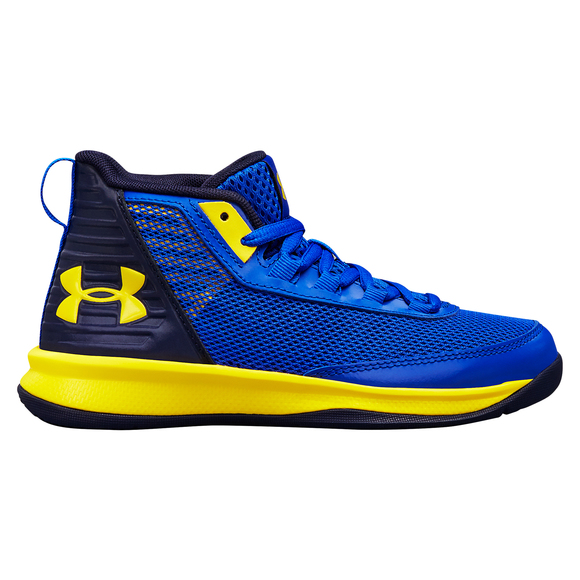 0717be2bef60 UNDER ARMOUR Jet 2018 (PS) Jr - Kids  Basketball Shoes