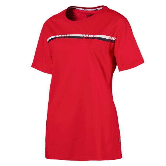Tape - T-shirt allongé pour femme