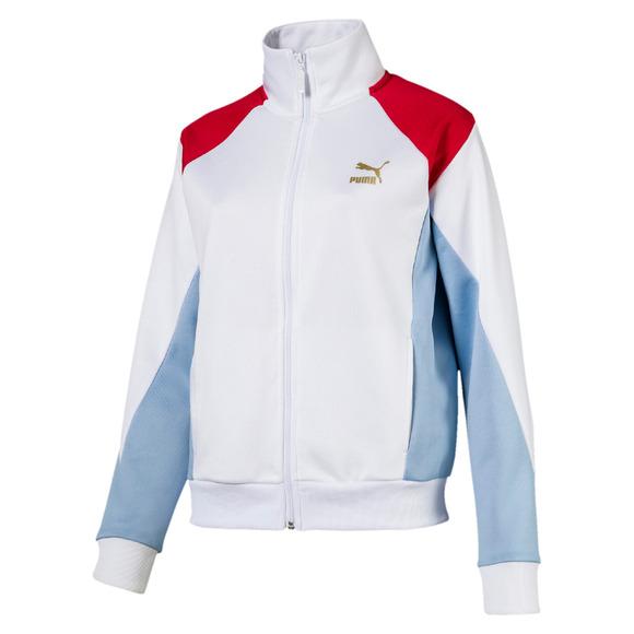 Retro Track - Women's Full-Zip Jacket