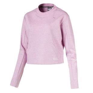 Fusion - Women's Cropped Fleece Sweater