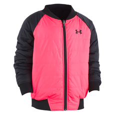 Reversible Bomber - Girls' Reversible Insulated Jacket