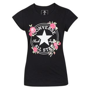 Chuck Patch Roses Jr - Girls' T-Shirt