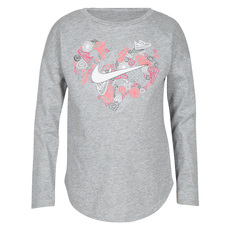 Doodle Heart Jr - Girls' Long-Sleeved Shirt