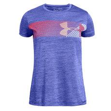 Hybrid Big Logo - Girls' Training T-Shirt
