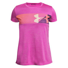 Hybrid Big Logo - Girls' Training T-Shirt