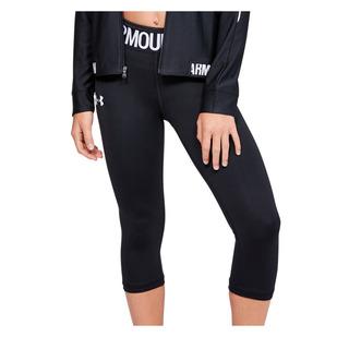 HeatGear Armour Jr - Girls' Fitted Capri Pants