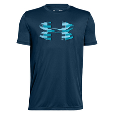 Tech Big Logo Solid - Boys' Training T-Shirt