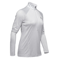 Tech Twist - Women's Half-Zip Long-Sleeved Shirt