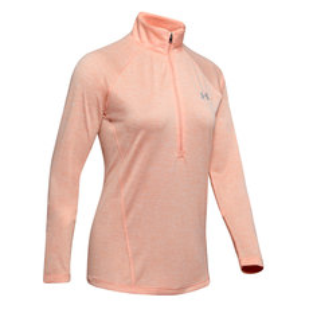 Tech Twist - Women's Half-Zip Long-Sleeved Shirt