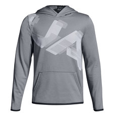 Armour Fleece Highlight Printed Jr - Boys' Hoodie