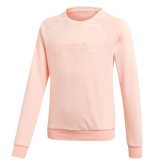 YG Essentials All Caps - Girls' Fleece Sweater