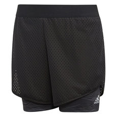 YG Run - Girls' 2-in-1 Training Shorts