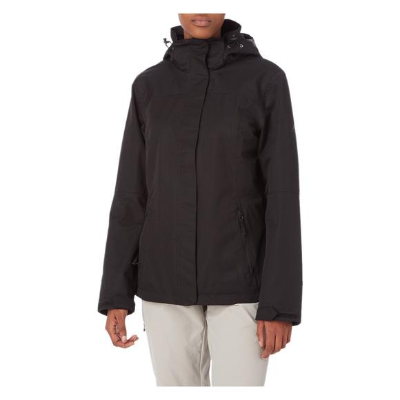 Terang II - Women's Hooded Rain Jacket