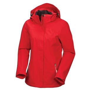 Terang II - Manteau de pluie à capuchon pour femme