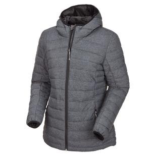 Kenny II - Manteau isolé à capuchon pour femme