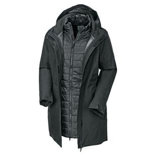 Lexton - Manteau isolé 3 en 1 pour femme