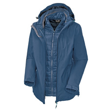 Anja - Women's Insulated 3-in-1 Hooded Jacket