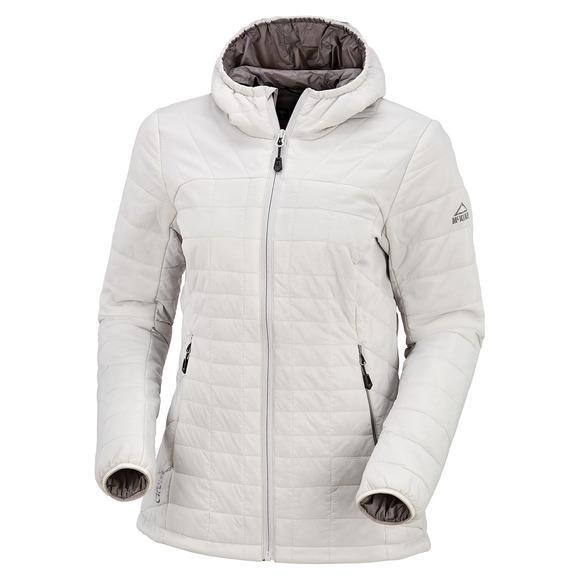 Tirano - Manteau isolé à capuchon pour femme